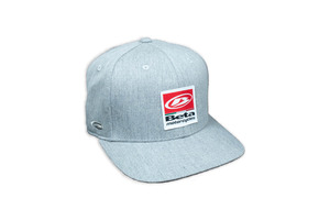 Beta Motorcycles Grey Hat, Snap-Back picture