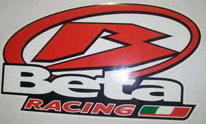 Beta Racing X-Large Sticker picture