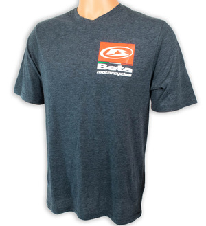 Beta RR T-Shirt, Gray-Heather picture