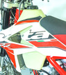3.1 Gallon Fuel Tank, Clear, 125-300 RR additional picture 2